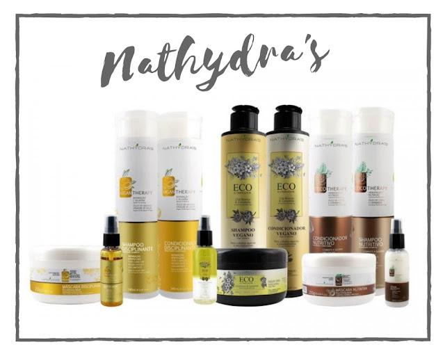 Nathydra's lança cosméticos naturais e veganos