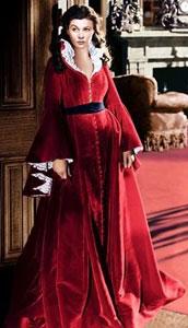 Vivien Leight como Scarlett O'Hara