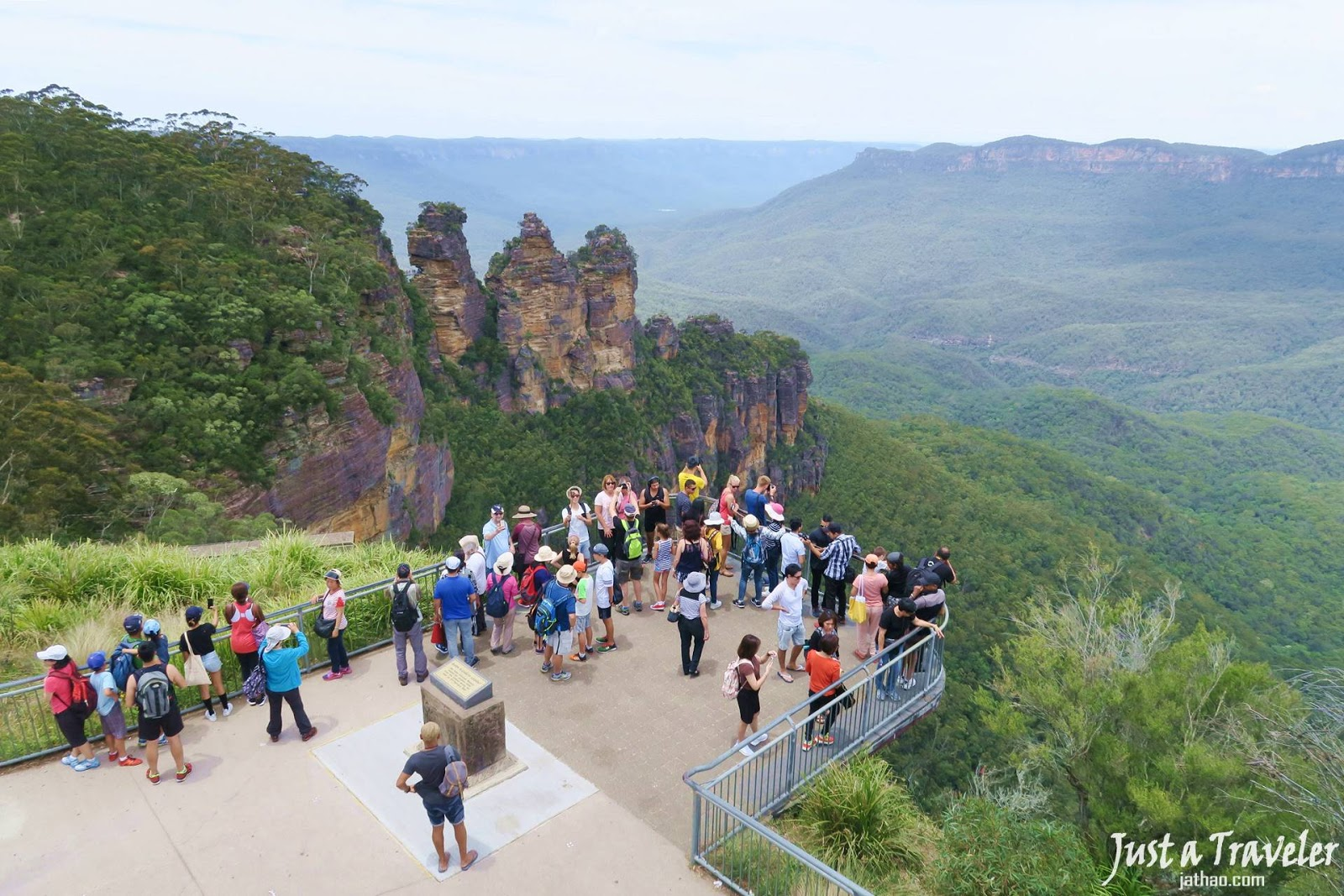 雪梨-景點-藍山-三姊妹岩-澳洲藍山-Sydney-Blue-Mountains-Three-Sisters-Tourist-Attraction-Australia