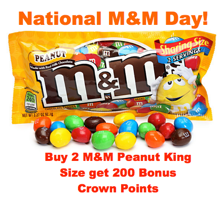 National M&M Day Wishes
