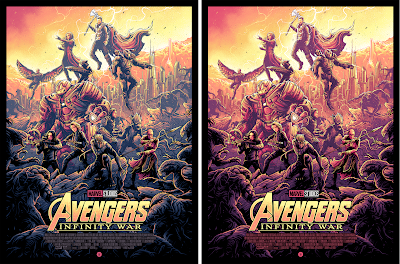 Avengers: Infinity War Screen Print by Dan Mumford x Grey Matter Art x Marvel