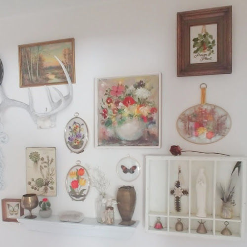 Thrift the Look Challenge | Boho Cottage Gallery Wall