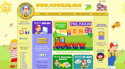 El Club de Pipo: videojuegos para aprender (I)