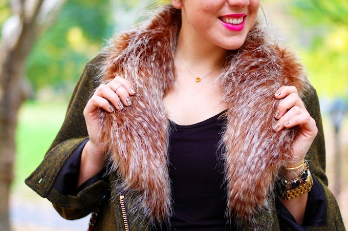 Smythe Faux Fur Trim Jacket