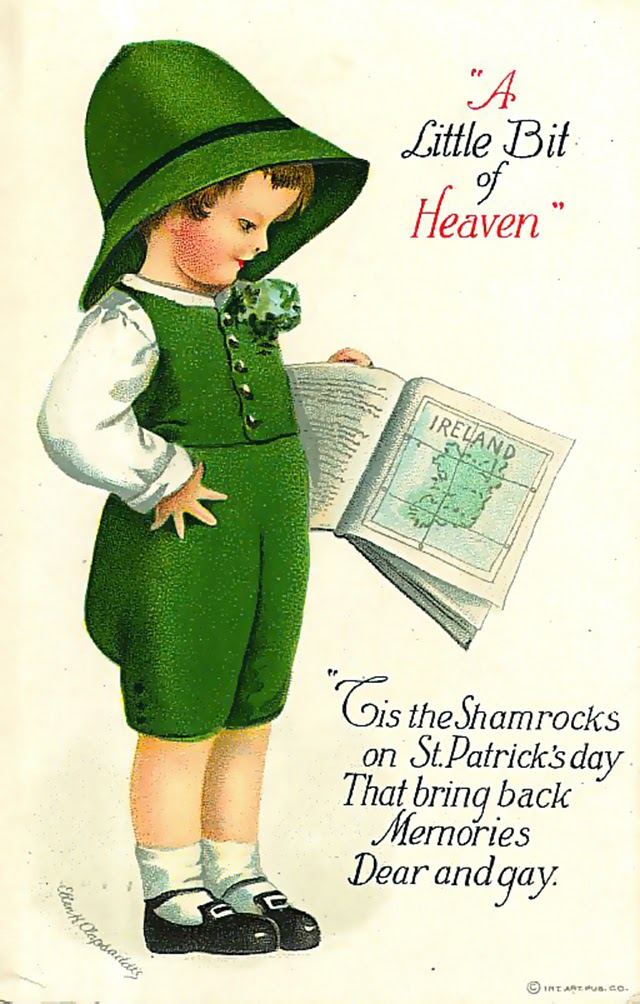 20 Adorable Vintage St Patrick's Day Cards Vintage Everyday
