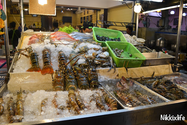 【泰國。華欣】KO Seafood:夜市內超搶眼的海鮮餐廳。 4
