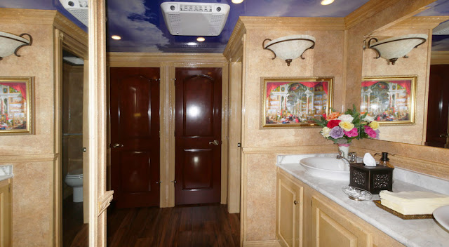 The Versailles Luxury Restroom Trailer