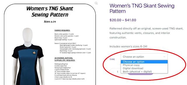 Digital sewing pattern downloads - Tailors Gone Wild