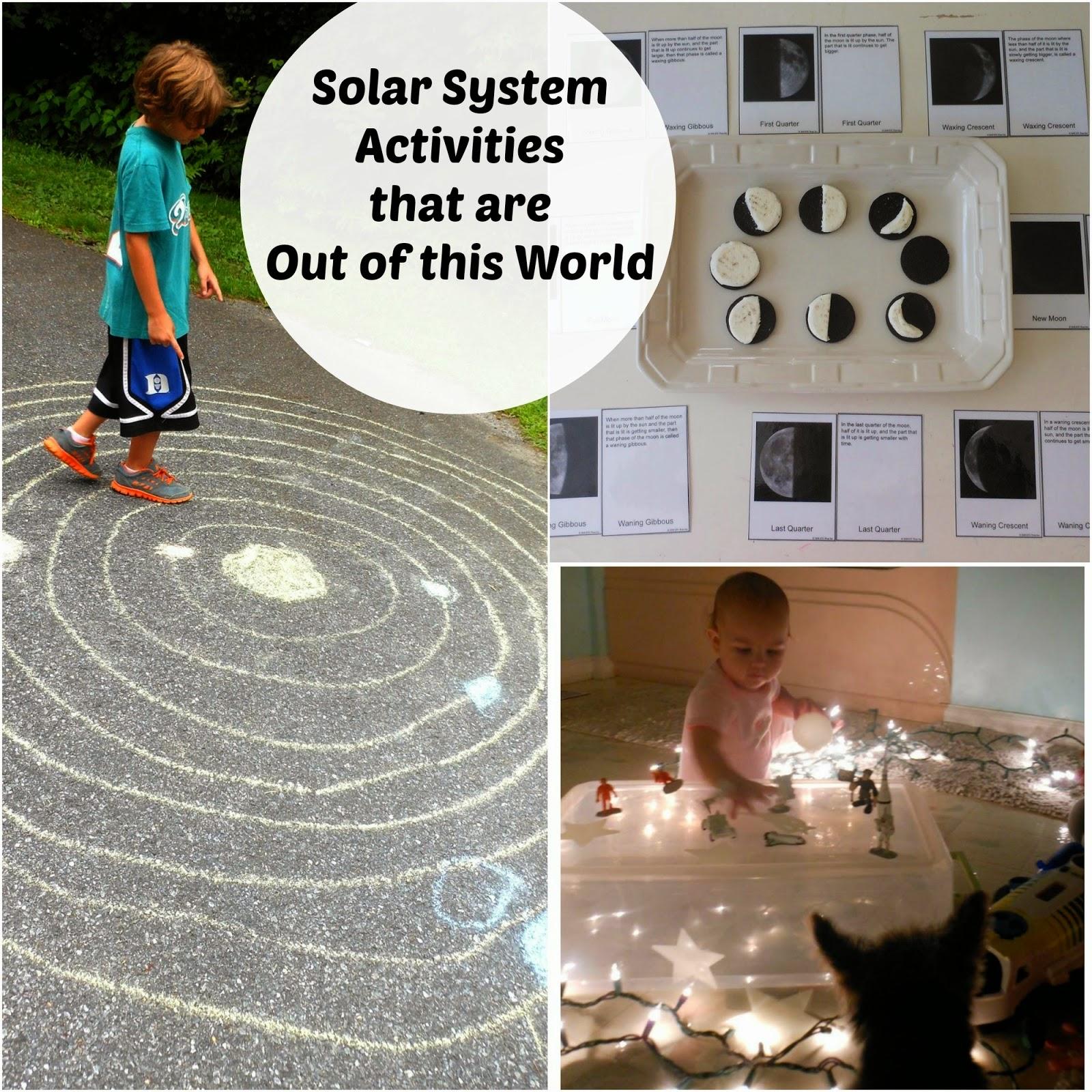 Solar System Unit Study Part 1 - Natural Beach Living
