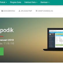 Download Aplikasi Dapodikdasmen Versi 2018.b, Berikut Daftar Perubahannya
