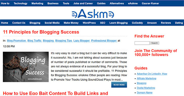 Blogs/Websites: What are the Best Training Products for an Online Business?: eAskme