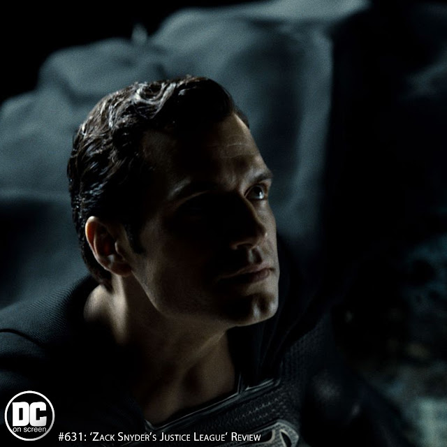 Superman in black and silver from Zack Snyder's Justice League
