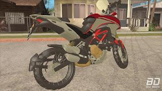 Download mod moto Ducati Multistrada para GTA San Andreas