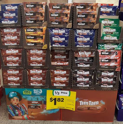 【ニュース】TimTam半額($1.82)セール、ウールワースで11/Aug/2020まで