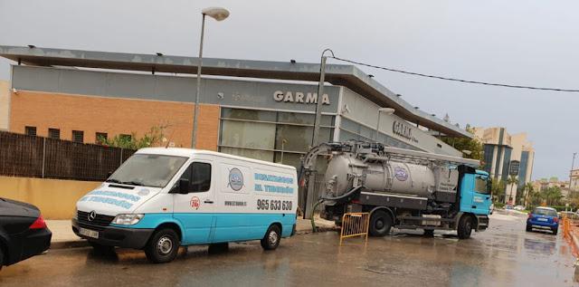 Limpieza y vaciado de fosas sépticas en Alicante