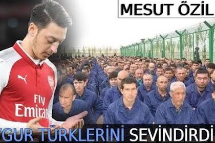 Ozil Ungkap Kekecewaannya Pada Muslim Dunia yang Abai atas Uighur