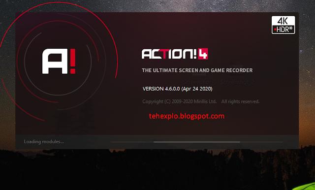 Mirillis Action Screen Recorder 4.6.0 Full Version