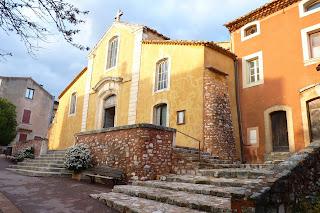 Iglesia de Roussillon.