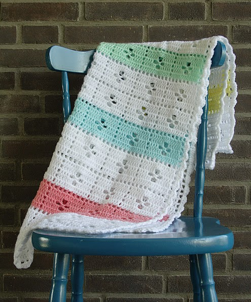Call The Midwife Crochet Blanket Happy In Red