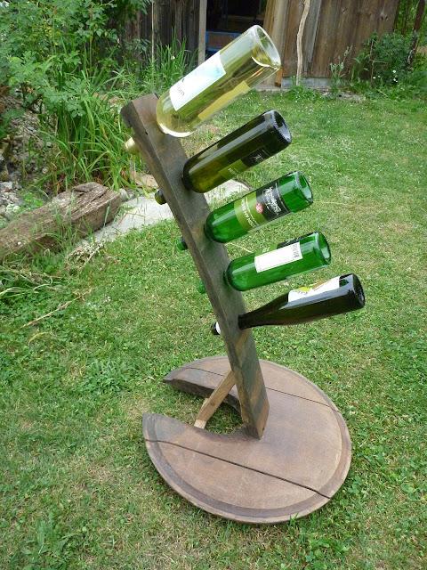 Wein präsentieren ausstellen darstellen