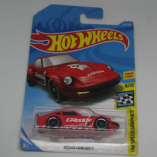 Hot Wheels Nissan Fairlady Z Merah