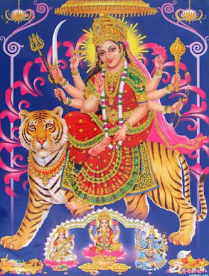 Picture Of Durga Mata