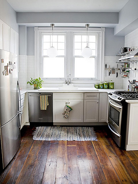 Small Kitchen Designs: Beautiful Abodes: Small Kitchen