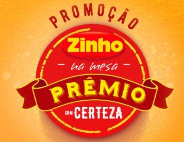 Cadastrar Zinho na Mesa Prêmio Com Certeza Promoção 2021