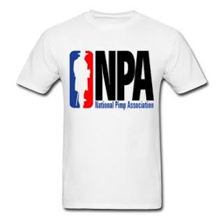 NPA National Pimp Association t shirt