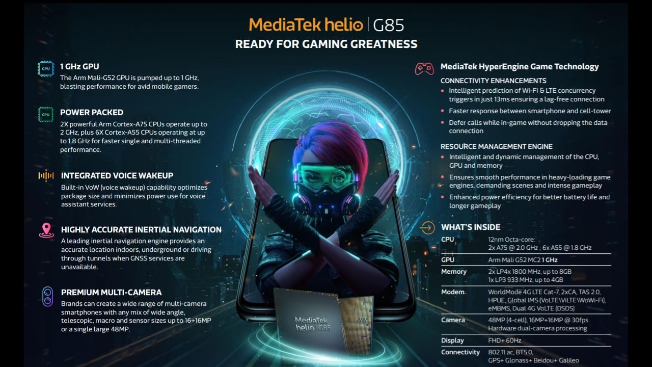 MediaTek Helio G85 - Droidz.XYZ