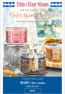 Bath & Body Works | Today's Email - November 24, 2019