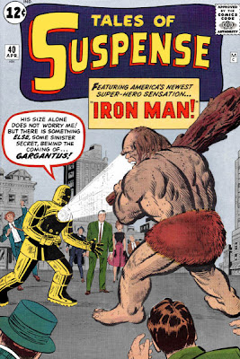 Tales of Suspense #40, Gargantus, Iron Man