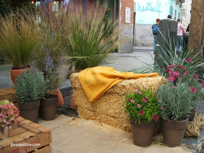 Coche o jard n parkingday en madrid paisaje libre for El jardin pedraza