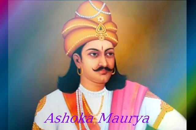सम्राट अशोक की जीवनी । Biography of Ashoka in Hindi
