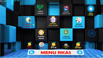 Aplikasi RKAS Manual Format Excel 2020