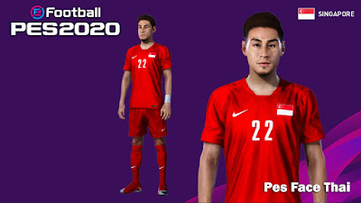 PES 2020 Faces Gabriel Quak by PESFaceThai