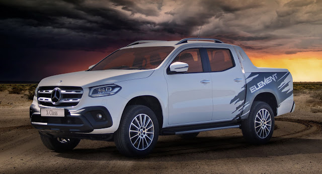 Mercedes, Mercedes X-Class, New Cars, Trucks, UK
