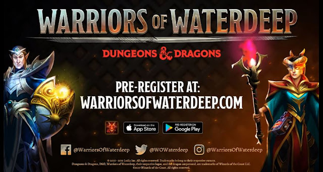 Warriors of Waterdeep Mobile Game