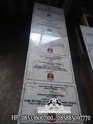Batu Prasasti Marmer, Prasasti Dana Desa Marmer, Prasasti Marmer Murah Tulungagung