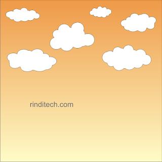 Cara Membuat Langit & Awan Lucu di CorelDraw (Step by Step)