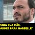 """Carlos para a mãe de Felipe Neto;""""Guardo o mesmo carinho com ela que guardava com Marielle"""""""