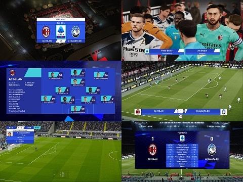 PES 2021 Scoreboards Serie A