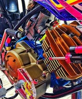 Yamaha RX King modif 2018