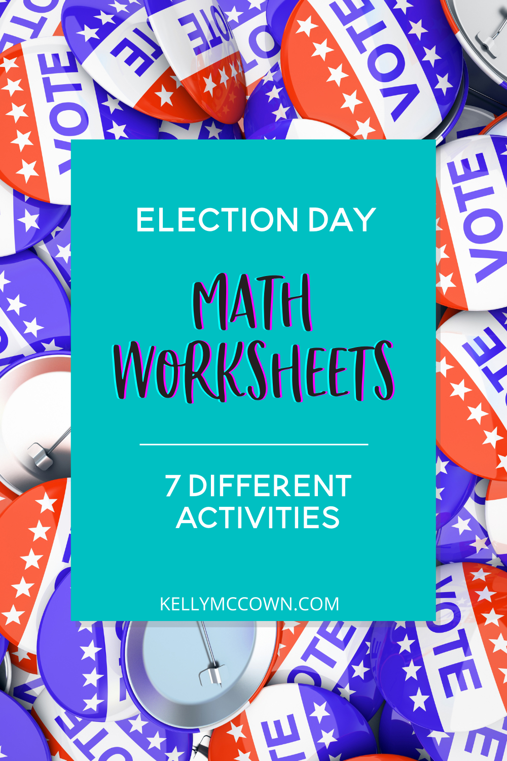 Kelly McCown: Election Day Math Worksheets for Middle School [ 1500 x 1000 Pixel ]
