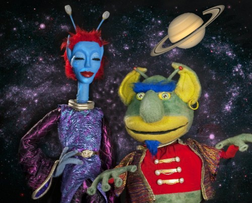 SPACE! | Center for Puppetry Arts | Eema and Ot
