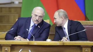 Putin backs Lukashenko