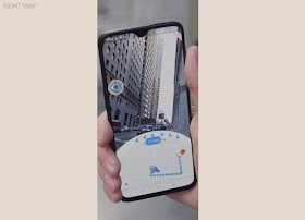Enhanced Reality in Google Maps navigation