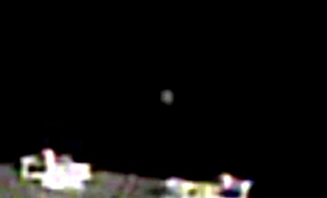 Objeto misterioso cerca de la estación espacial en cámara en vivo, 28 de noviembre de 2020