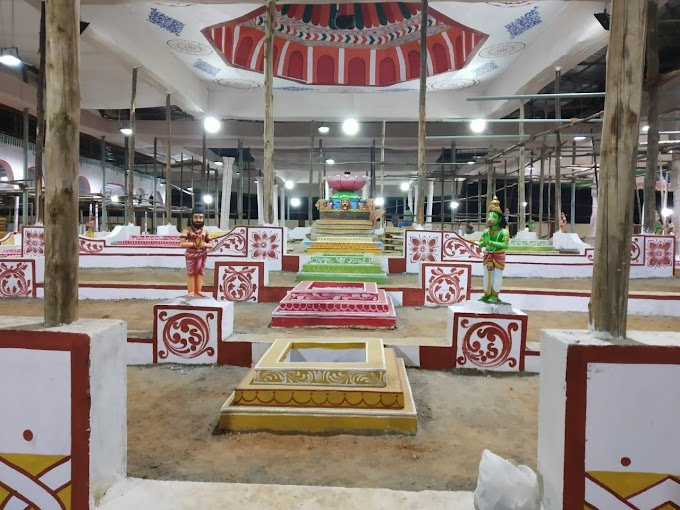 தஞ்சை பெரிய கோவில் கும்பாபிஷேக 22 ஆயிரம் சதுர அடியில் 2020