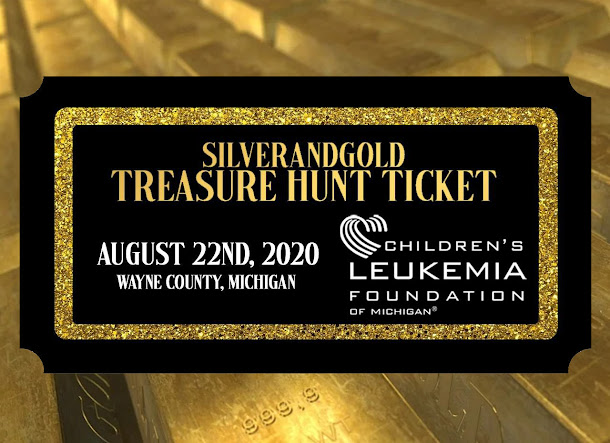 SilverandGold's Treasure hunt, Metro Detroit, things to do,